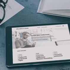 Desarrollo web para Cáñamo & Cran, expertos en cursos online.