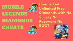 Mobile Legends Hack Tool — Unlimited Free Diamonds Generator Android-iOS Tested Mobile Legends Hack 2019 Updated — Get Free Diamonds HACK Mobile Legends Free Diamonds 2019 No Survey No Password Mobile. Moba Legends, Episode Choose Your Story, App Hack, Iphone Mobile, Free Gems, Hack Online, Mobile Game, Bang Bang, Cheating
