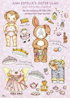 Miss Missy Paper Dolls: Mary Engelbreit Lilah