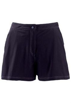 Swim 365 Plus Size Swimsuit Shorts Separate With Button Closure, Elastic Waist $39.77