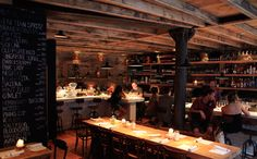 Aria Restaurant, NYC.  Rustic Italian + wine bar.  I love this place!