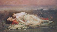Lovers Tristan Isolde Eternal love