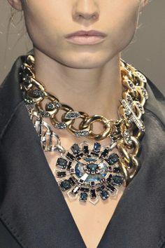chains. stones. grandiose.
