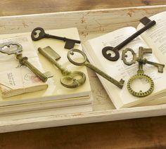 O M G... I loooove vintage keys!!!!