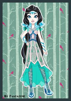 EAH - daughter of the Snow Queen by fantazyme on DeviantArt