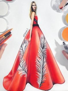 @zoljargal_e| Be Inspirational❥|Mz. Manerz: Being well dressed is a beautiful form of confidence, happiness & politeness Illustration Mode, Fashion Illustration Sketches, Fashion Sketchbook, Fashion Sketches, Fashion Figures, Fashion Models, Fashion Outfits, Carolina Herrera, Arte Fashion