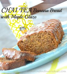 Banana Bread is such a great easy recipe, but sometimes it's fun to change it up a bit. Are you a fan of Chai Tea? Then This Simple Chai Tea Banana Bread with Maple Glaze is meant for you.  Seriously, so yummy!