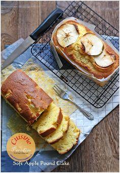 Cuisine Paradise | Singapore Food Blog - Recipes - Food Reviews - Travel: Soft Apple Pound Cake