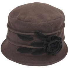 Fleece Angelina Cloche Hat - Fall and Winter Hats for Women #HatsForWomenFashionable