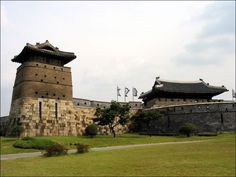 Hwaseong Fortress in Suwon, Korea [UNESCO World Cultural Heritage]