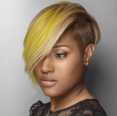 At Inflúance Hair Care we are dedicated to creativity, striving to provide innovative products promoting healthy hair. Short Sassy Hair, Short Hair Cuts, Short Hair Styles, Love Hair, Great Hair, Dope Hairstyles, Hairstyle Men, Formal Hairstyles, Hair Affair