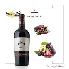 Prezioso alla vista e al gusto: il nostro #Negroamaro racchiude avvolgenti sentori di frutta rossa matura, vaniglia e cacao.