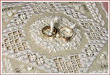 The Victoria Sampler - Heirloom Wedding Treasures uses Kreinik Silk Mori.