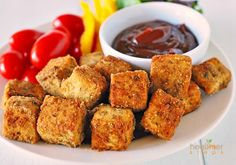 Gluten-Free Tofu Nuggets | Gluten Free and Vegan Recipes by Michelle Blackwood