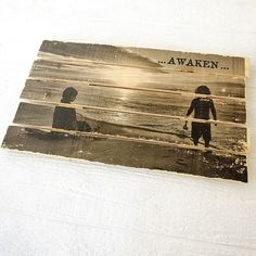Picture to Wood Transfer Directions | Awaken Wood Pallet Transfer Project by Johanna Love