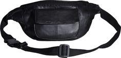 Bauchtasche Echt-Leder mit Fronttasche Klettverschluss #mode #fashion #leathergoods #leather #trend #style