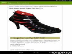 Sepatu Indonesia  Android App - playslack.com , Aplikasi resmi dari SepatuIndonesia.com yang menampilkan informasi toko online yang menjual berbagai macam sepatu di Indonesia. Sepatu yang disediakan seperti sepatu wanita, sepatu pria dan sepatu untuk anak.