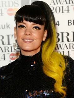 BRIT Awards 2014 celebrity hair and makeup pictures