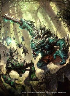 mulg vs woldwarden y woldwyrd by N-ossandon-Nezt.deviantart.com on @deviantART