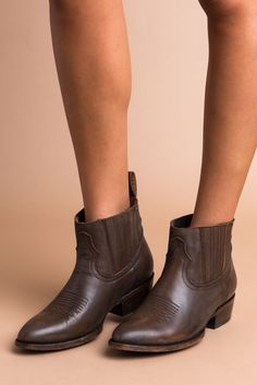 Mustang Saddle Bootie from Prism Boutique