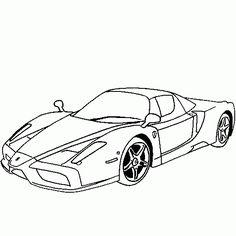 32 best transportation coloring pages images coloring pages Pizza Delivery Near Me drawing of a legend car ferrari enzo cars and vehicles coloring to print