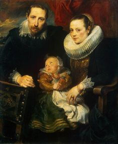Family Portrait -- 1621 -- Sir Anthony van Dyke -- Flemish, worked primarily in England -- Oil on canvas -- Kunsthistorisches Museum, Vienna
