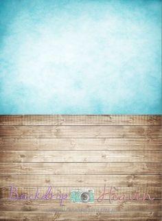 Wood Floor & Aqua Portrait Combo  #dropzbackdropsaustralia #scenicbackdrop #photographybackdrop #cakedrop #studiobackdrop #scenicbackground #dropzbackdrops #photobackdrop #backdrops #cakedrops