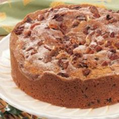 Chocolate Chip Coffee Cake Recipe on Yummly
