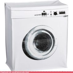 Washing machine clothes hamper