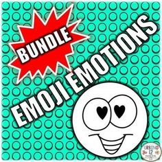 Have your ELLs get in touch with their feelings.. with this Emoji Emotions Coloring activity and posters for your classroom. Bundle includes two emoji themed files in English. See links below for full descriptions and previews for each resource included i
