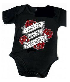Body bébé noir, Metallica