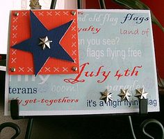 Homemade 4th of July Party Invitations | About Family Crafts