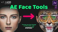 Do you often mount face footages in After Effects or Premiere Pro?Add features of Face Applications without smartphones and neuronets!Meet it – AE Face Tools on Videohive!Hey wait… What is this?