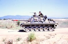 US Army tank at LZ Bronco
