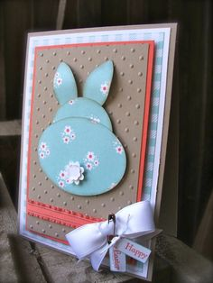 this little bunny bottom is too cute!