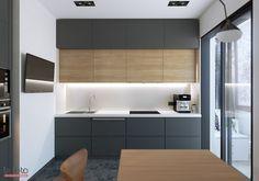 Моя работа и просто 3Дшки в удовольствие – 263 фотографии Beautiful Kitchens, Cool Kitchens, Apartment Interior, Kitchen Cabinets, New Homes, Interior Design, House, Inspiration, Furniture