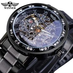 Top Mechanical Watches Men's Watches on AliExpress Mechanical Hand, Mechanical Watch, Sport Watches, Watches For Men, Men's Watches, Royal Design, Watch Case, Stainless Steel Watch, Watch Bands