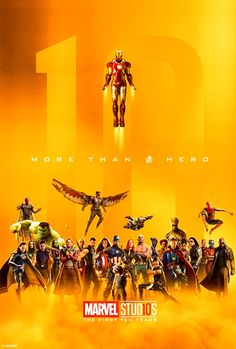 Marvel Studios 10 Years Celebration Poster