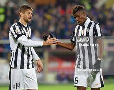 Fernando Llorente and Paul Pogba of Juventus FC...