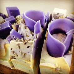 Lavender Chamomile Soap by The Daily Scrub www.facebook.com/TheDailyScrub
