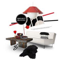 """nassos..."" by ian-giw ❤ liked on Polyvore featuring interior, interiors, interior design, home, home decor, interior decorating, Marset, Cuero, Daum and Venini"