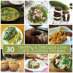 30 Low Carb Zucchini Recipes