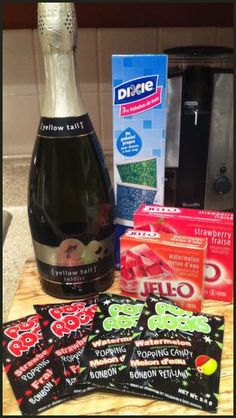 Champagne Jello Shot Recipe