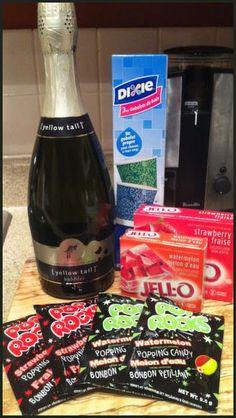 Champagne Jello Shot Recipe