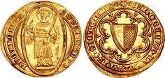 FRANCE, Provincial. Metz (libre ville imperiale). 14th-17th centuries. AV Florin (23mm, 3.50 g, 9h). Struck circa 14th-15th centuries.
