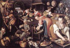 Joachim Beuckelaer (ca. 1530- ca. 1573) was een Zuid-Nederlands kunstschilder van religieuze onderwerpen, genrestukken en stillevens, die van betekenis zijn voor de ontwikkeling van de stillevenkunst van de Nederlanden in de 17de eeuw. Hij schilderde veel keukens en markten, met een religieuze tint.