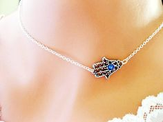 HAMSA Celebrity Style The Protective EVIL EYE by InStyleBoutique