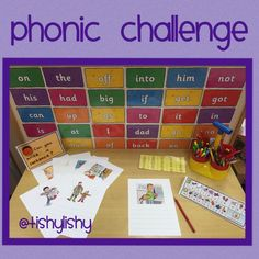 Write sentences for each picture. Phonics Reading, Phonics Activities, Writing Activities, Primary Teaching, Teaching Phonics, Ks1 Classroom, Classroom Ideas, Phonics Display, Early Years Classroom