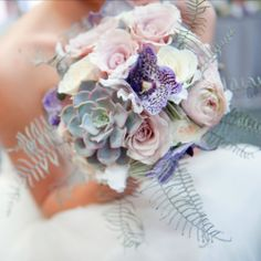 Stunning florals in this urban chic wedding shoot ~ the pale pink, purple, grey and silver color palette is a dream come true! Exactly what I want!