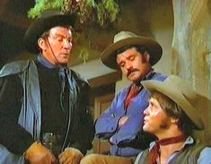 Cameron Mitchell, Bob Hoy, Mark Slade.